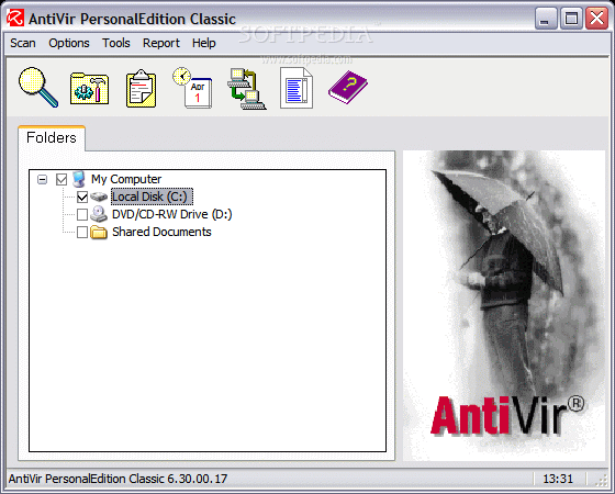 AntiVir Workstation PersonalEdition 2.1.3