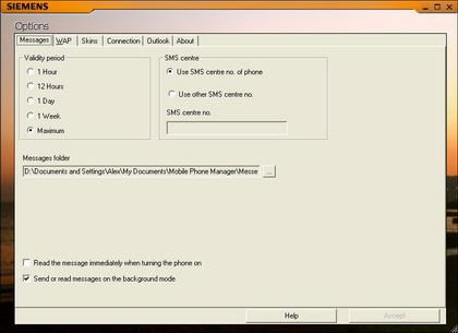 Mobilephonemanager для siemens m65/c65/cx65/s65